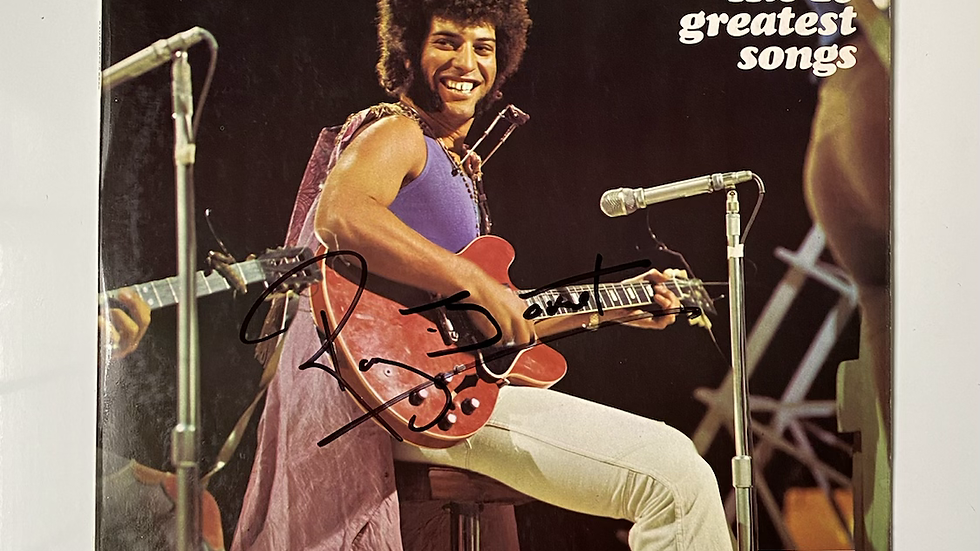 Ray Dorset's Best LP Cover Autographed