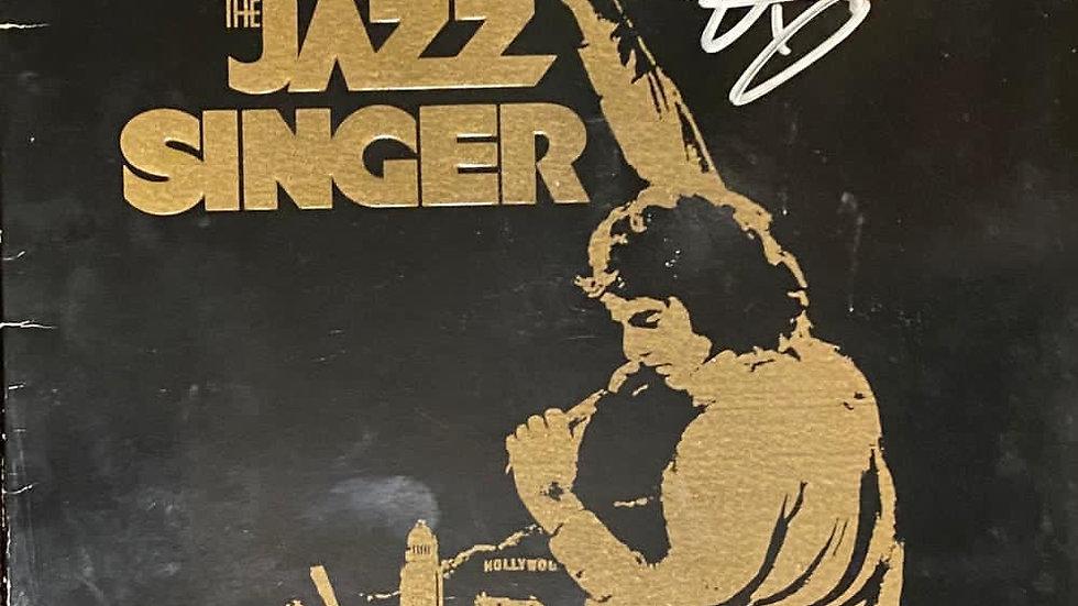 Neil Diamond The Jazz Singer LP Cover Autographed