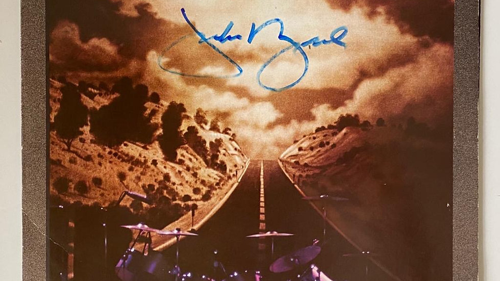 Jackson Browne Running On Empty LP Cover Autographed