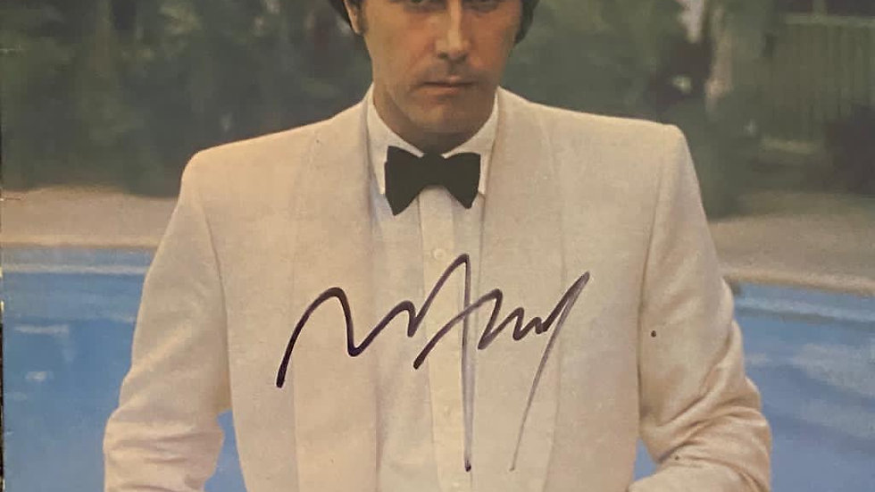 Bryan Ferry Another Time, Another Place LP Cover Autographed