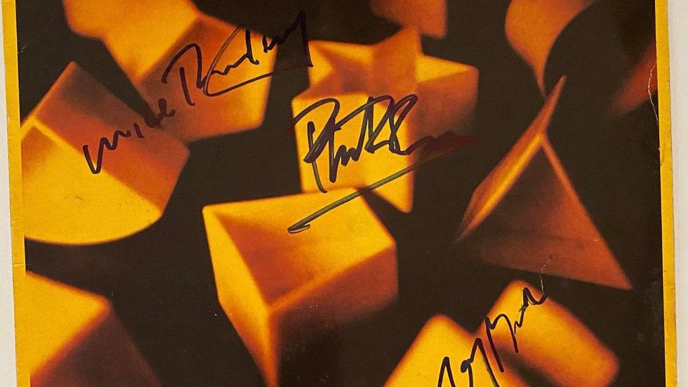 Genesis LP Cover Autographed