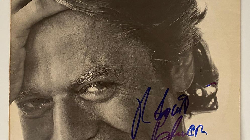 Robert Palmer Riptide LP Cover Autographed