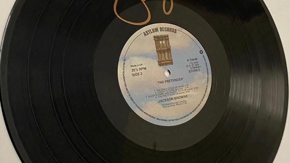 Jackson Browne The Pretender Vinyl Record Autographed
