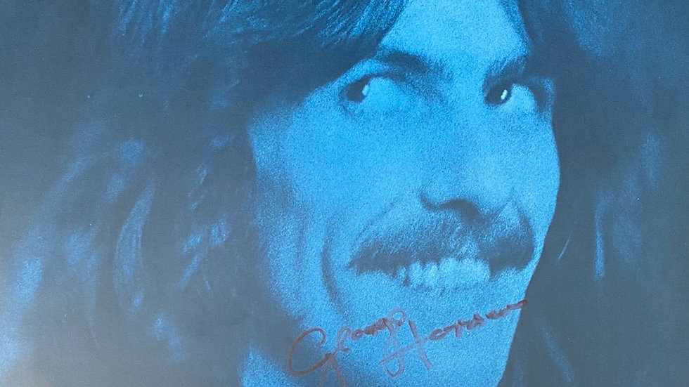 George Harrison Extra Texture Inner Sleeve Autographed