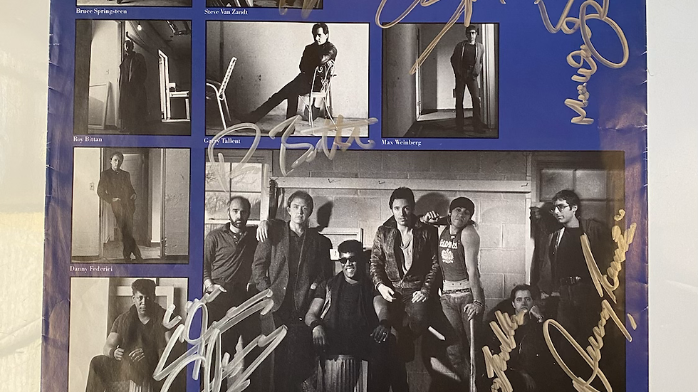 Bruce Springsteen Born In The USA Inner Sleeve Autographed