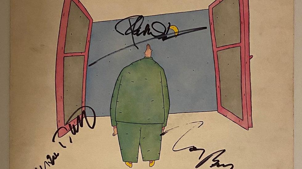 Genesis Duke LP Cover Autographed