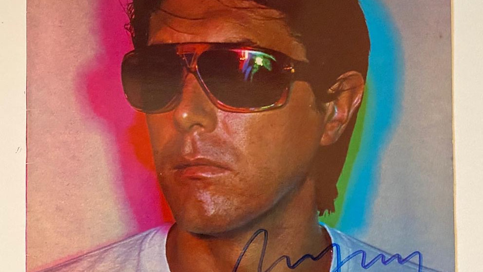 Bryan Ferry In Your Mind LP Cover Autographed