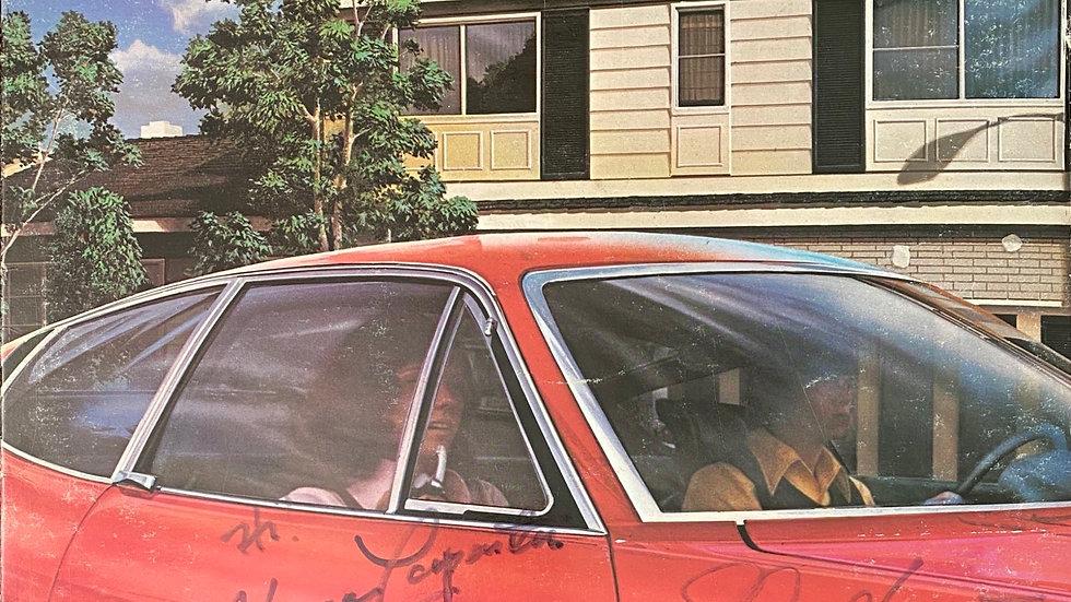 Carpenters Now & Then LP Cover Autographed