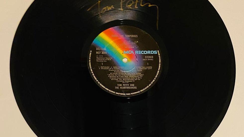 Tom Petty Vinyl Record Autographed