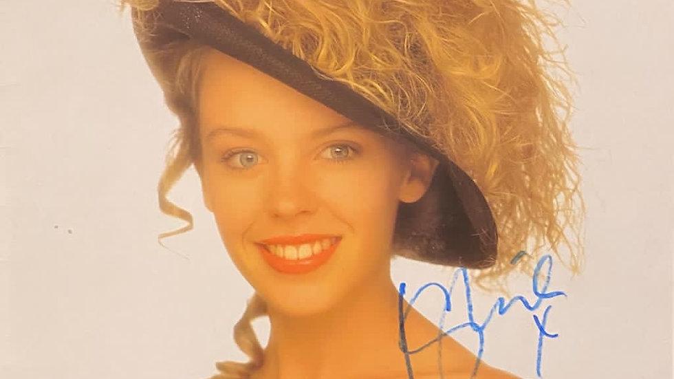 Kylie Minogue Kylie LP Cover Autographed
