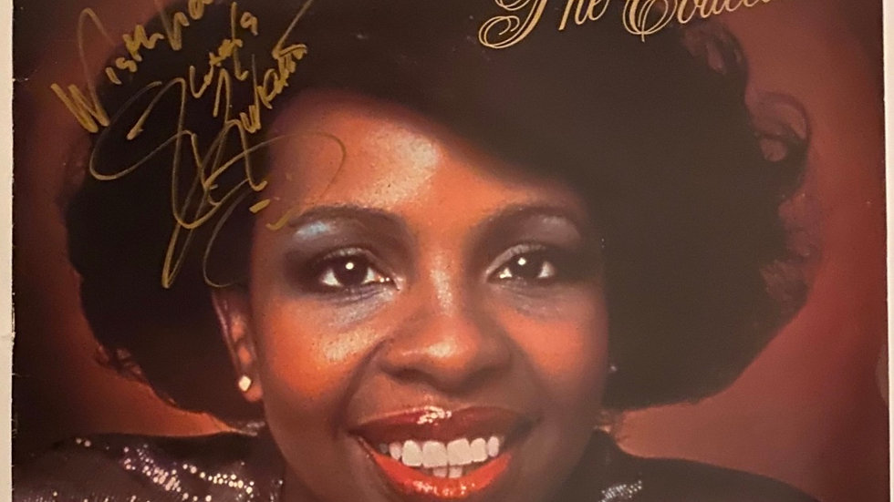 Gladys Night And The Pips Greatest Hits LP Cover Autographed