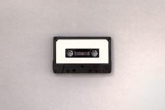 Fita Cassete preto e branco