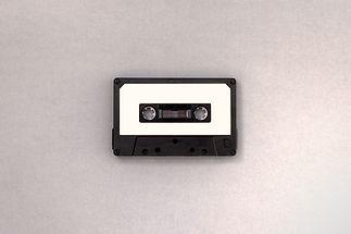 Schwarz-weiße Kassette
