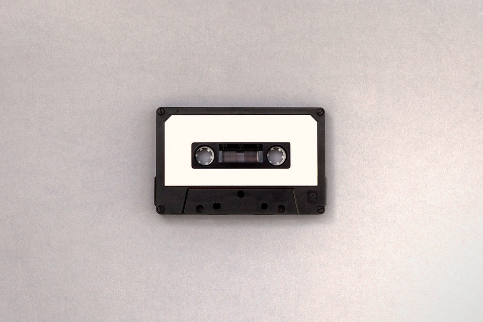 Black and White Band van de Cassette