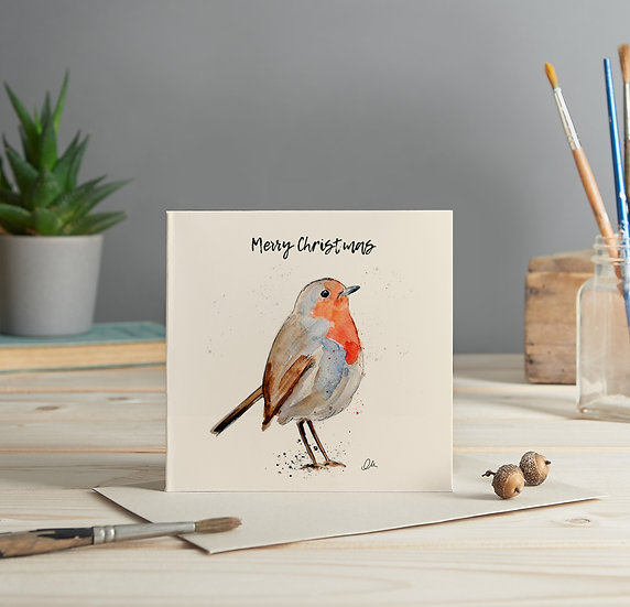 Robin 1 greeting card