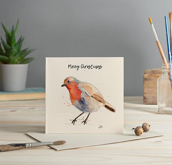 Robin 2 greeting card