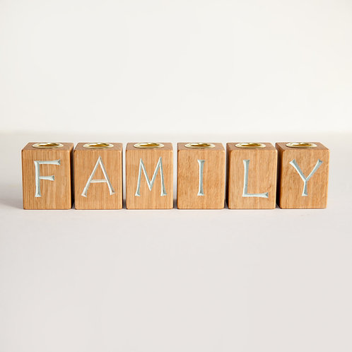 Family candle holder