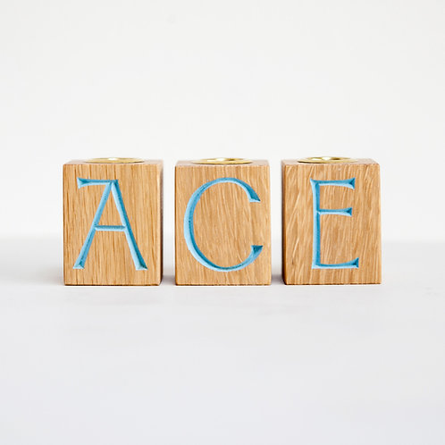 ace candle holder