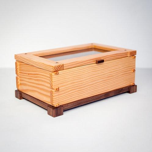 Hand made Organizer Tea Box