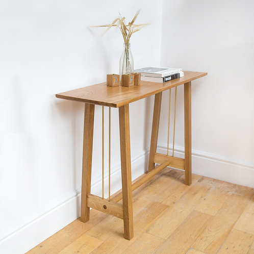Console Table In a Room