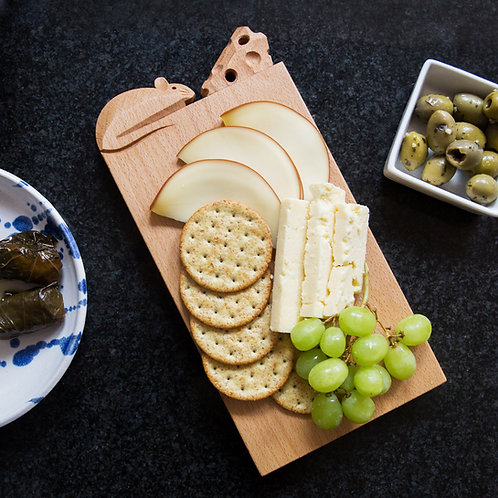 CHEESE BOARD With food