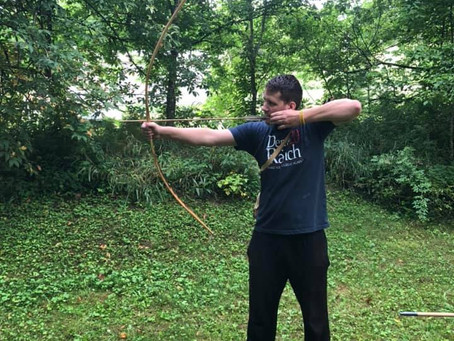 Bow and Arrow Making Class - July 2021