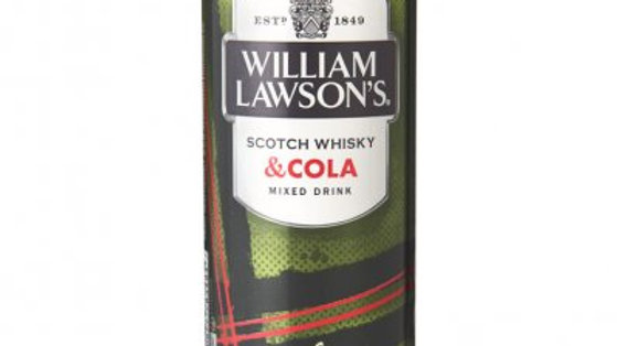William Lawson's Whisky cola blikje