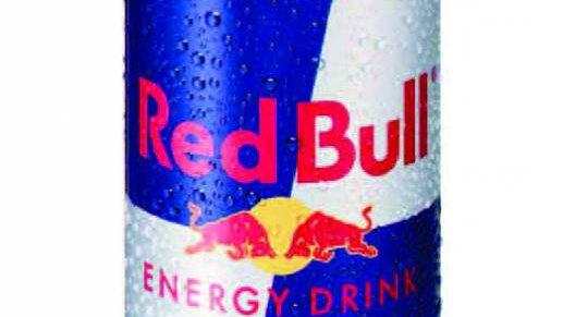 Red Bull blikje gekoeld