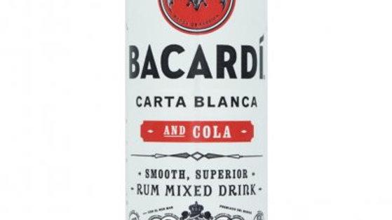 Bacardi cola blikje gekoeld