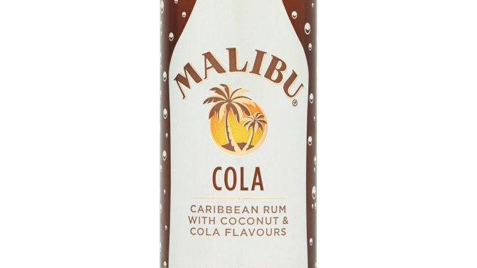 Malibu cola mixje gekoeld