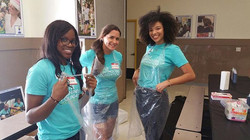 Getting ready for some tie-dying! _llfoundation #giveback #forthekids #miamicharity #school #student