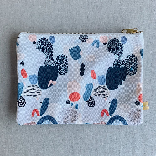 Canvas Pouch - Cool Vibes
