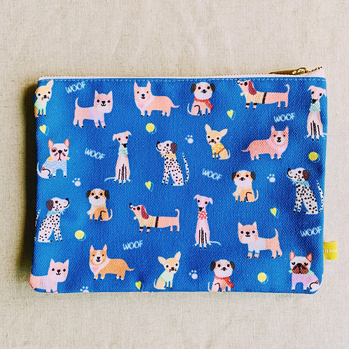 Canvas Pouch - I Woof You