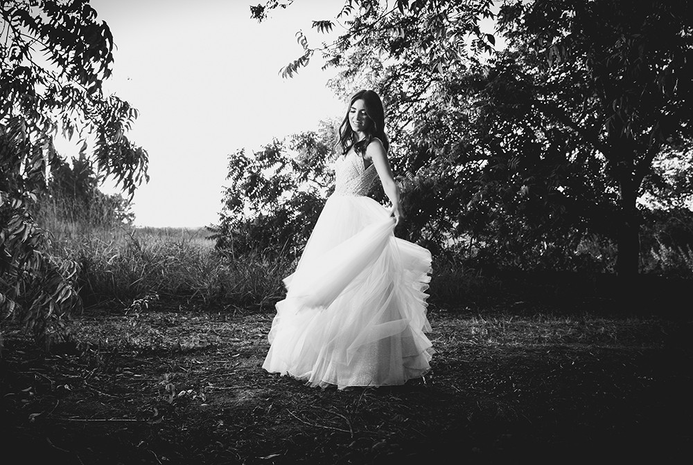 עידו סקעת-  צלם חתונות - שחור לבן