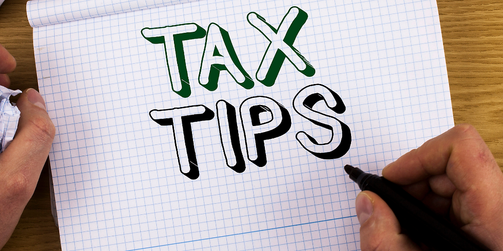 Top Tax Tips For Business Owners