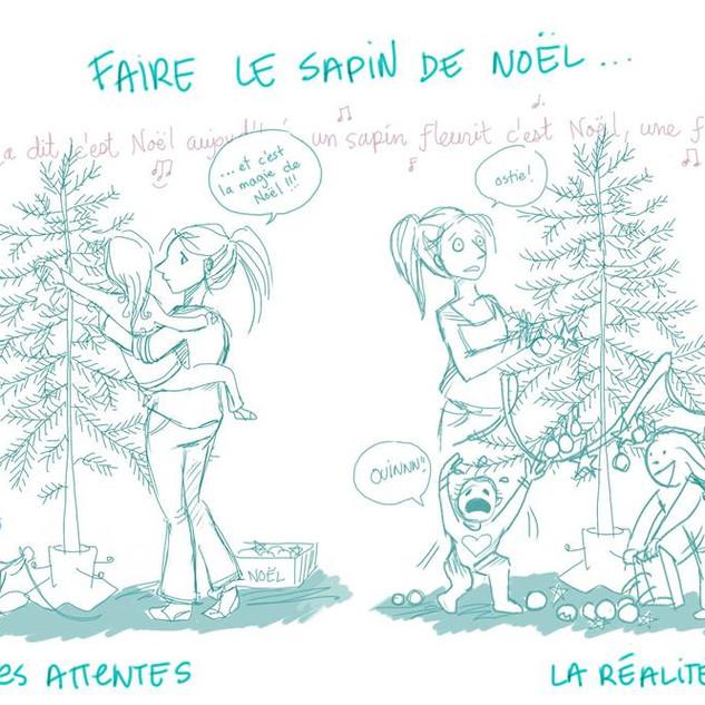 La désillusion du sapin de Noël