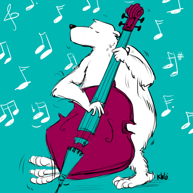 l'ours qui jazz