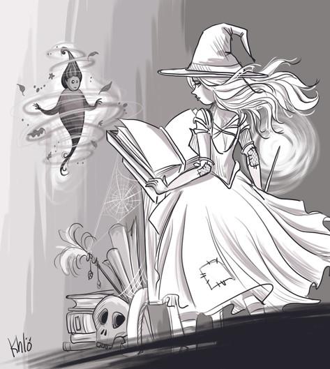 7-Enchanted (inktober)