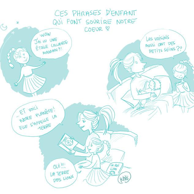 Phrases d'enfants