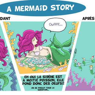 a mermaid story
