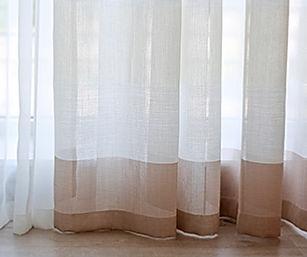 Nettoyage tentures, voiles et stores
