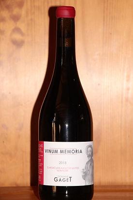 VINUM MEMORIA Domaine Gaget ( France)  Un glouglou du Beaujolais à consommer sans modération! (ou presque)