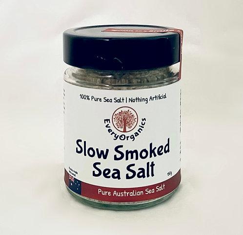 """SMOKED"" Slow Smoked Pure Australian Sea Salt- 150g"