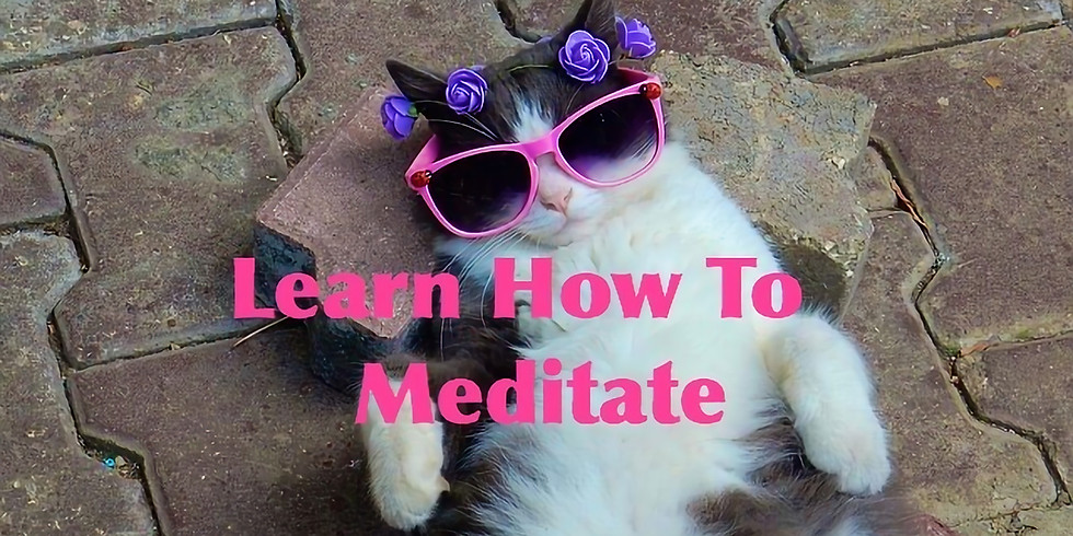 Learn How to Meditate & Meet Your Guides - PLEASE RSVP