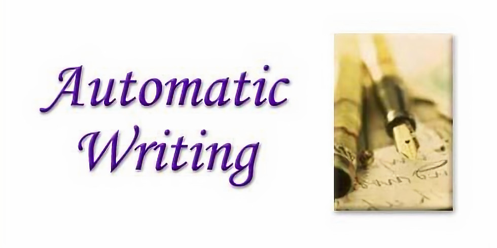 Automatic Writing Class - PLEASE RSVP