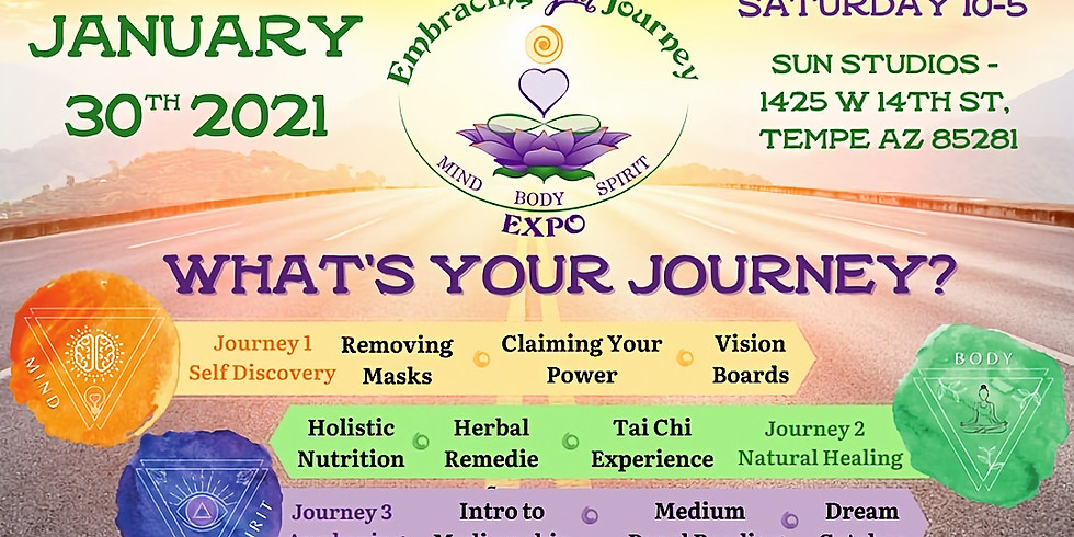 Intro to Mediumship Class at Embracing Your Journey Expo