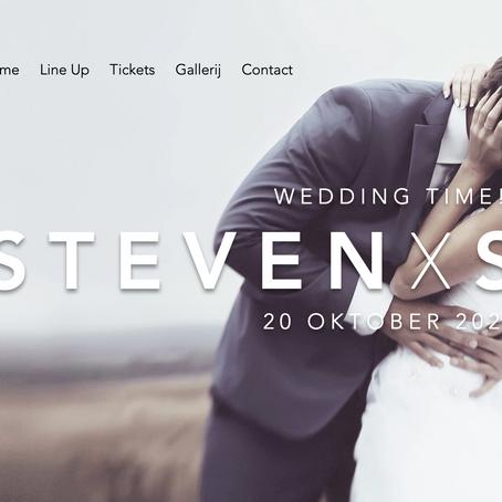 Een eigen website voor uw huwelijk, doop, verjaardagsfeest of wat dan ook? Het kan zeker!