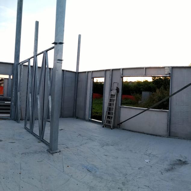 Steelhome case prefabbricate in acciaio