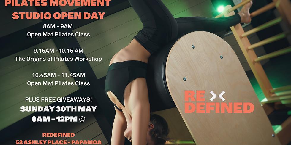 Pilates Movement Studio Open Day