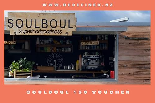 SoulBoul $50 Gift Voucher
